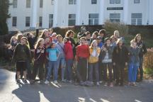 fall retreat group photo